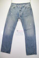 levi's 501 (Cod. M1529) tg50 W36 L34  jeans usato vintage