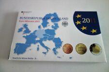 COFFRET  BE ALLEMAGNE  2011   LETTRE D  avec 2 Euro COMMEMO