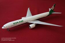 JC Wing Eva Air Boeing 777-300ER in New Color Diecast Model 1:200