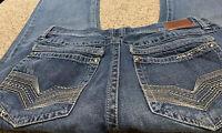 Men's AXE CROWN BOOT CUT JEANS Actual Size 36 X 30 Men's Jeans 36/30