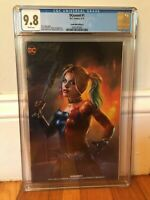 DCeased #1 CGC 9.8 NM/MT Comic Mint Edition B Shannon Maer Cover Harley Quinn