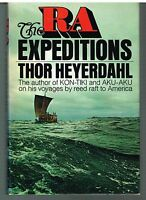 The RA Expeditions by Thor Heyerdahl 1971 1st Ed. Vintage Book!  $