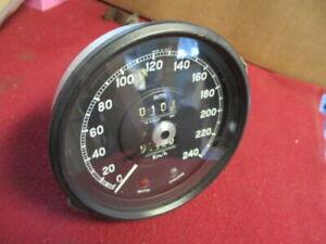 Jaguar Mark 2 MK II 3.4S 3.8S Rare KPH Speedometer, Excellent!