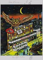 Northern Soul; Wigan Casino; The Night Owl; Here Comes the Night Owl; A4 print