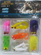 3PK Fishing Lure Assortment River Monsters Outdoors, Boating, Fishing Tackle