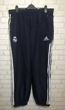 ADIDAS REAL MADRID FOOTBALL TRACKSUIT BOTTOMS - NEW - SIZE 46/48 - NEW