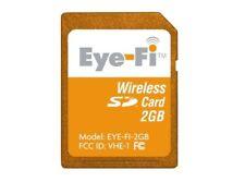 EYE Fi GEO Wi-Fi 2GB SDHC Memory SD CARD - Cameras Wii 3DS Computers