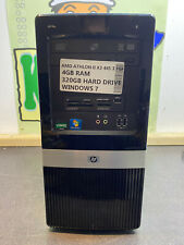 HP 3135 CHEAP 4GB AMD ATHL 320GB HDD WINDOWS 7 PC TOWER COMPUTER READY TO USE