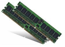 2x 2GB 4GB ECC DDR2 UDIMM 667 RAM Speicher für DELL PowerEdge 830 840 PC2-5300E