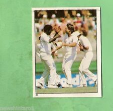 1983 SCANLENS CRICKET STICKER #37  NORMAN COWANS & IAN BOTHAM, ENGLAND