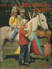 Make Your Own RED INDIAN OUTFIT (1964) Bancroft Activity Book #586 London