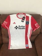 Adidas Adizero Authentic San Jose Earthquakes MLS soccer jersey NWT size L Men