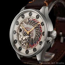 Vintage Mens Wristwatch Skeleton Men's Watch Louis Ulysse Chopard LUC Movement