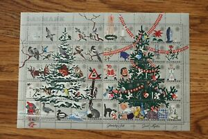 Denmark 1961 Christmas Seal mint sheet of 50 stamps MNH