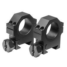 """Heavy Duty Weaver 30mm Scope Rings - 0.9"""" Height"""
