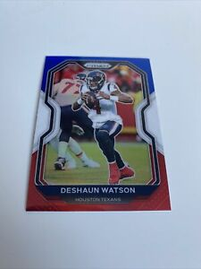 2020 Panini Prizm Deshaun Watson Red White Blue Base Card NFL Texans 🏈📈