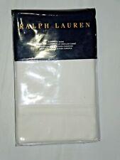 Ralph Lauren Bedford Sateen White European Euro Pillow Sham New