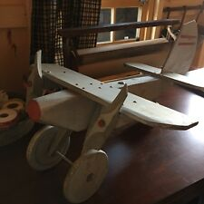 SALE!!! Handmade wooden air plane wind direction silver antique? Vintage? Farm