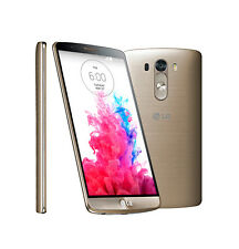 (Shine Gold) LG G3 D855 32GB 4G LTE Unlocked Smart Mobile Phone