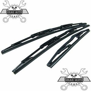 LAND ROVER DISCOVERY 2 98-04 WIPER BLADE 21' FRONT 2X  #DKC100960 +1X DKC100890