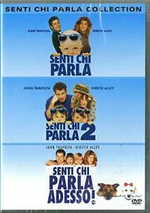 Senti Chi Parla - Box da Collezione con i 3 Film in DVD Nuovi