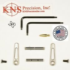 KNS Pins Anti-Walk Pins Non-Rotating Gen JJ STAINLESS STEEL Side Plates .154 Pin
