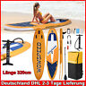 Stand Up Paddle SUP Board Paddling Surfboard aufblasbar mit Paddel 320cm DHL
