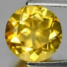 GOLDEN CITRINE 6 MM ROUND CUT ALL NATURAL