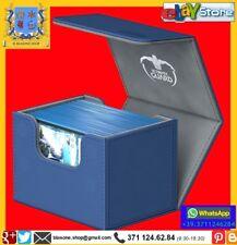 Ultimate Guard SideWinder™ 100+ Standard Size XenoSkin™ Blu Box Carte Mazzo Blue