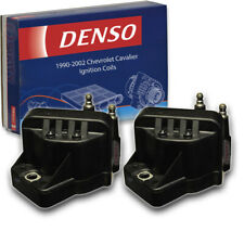 2 pc Denso Ignition Coils for Chevrolet Cavalier 2.2L L4 1990-2002 Direct ri