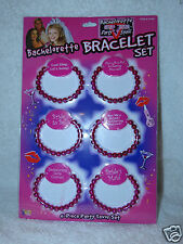 Bachelorette Party Outta Control Bracelets 6 piece Party Favor