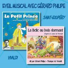 CD Le Petit Prince - La Belle au bois dormant / Gérard Philipe