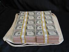 More details for prop novelty money filler packs 50 x $10k ($500k) solid blocks.single sided