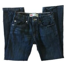 Levi's 514 Slim Straight Dark Wash Jeans Size 16 28 X 28 A8