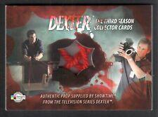 DEXTER SEASON 3 (Breygent) PROP CARD #D3 - P4 RED TRAJECTORY STRING