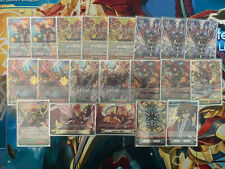 Cardfight!! Vanguard High Rare Kagero Premium Overlord Deck Sleeved + Deck Box