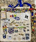 eBay Live Lot Assortment Souvenirs Las Vegas 2006 Pins Cards Lanyard Tote