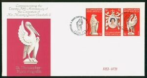 Mayfairstamps St Christopher Nevis Anguilla FDC 1978 Queen Corontation Combo Fir