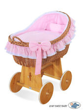 Travel Cot Bed Play Pen Infant Baby Child Bassinet Playpen Entryway W Bag Net