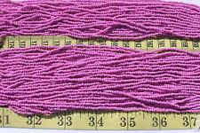 Terra Opaque Dark Orchid 11/0 Czech Glass Seed Beads Craft Jewelry Making/ Hank