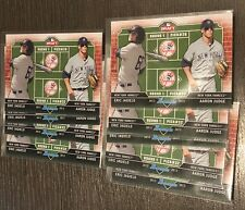 9x CARD LOT AARON JUDGE ERIC JAGIELO 2013 BOWMAN DRAFT DUAL DRAFTEE JJ YANKEES