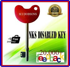 Disabled Toilet Key with Easy Turn Head Genuine Including Braille FREE POST