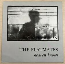 THE FLATMATES Heaven Knows (1988) 12-Inch EP Subway Organization UK Indie RARE