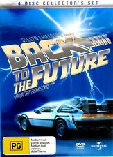 Steven Spielberg-Back To The Future Dvd (4 Disc Collector's Set) Michael J. Fox