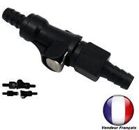 Raccord Rapide Coupleur de tuyau/ durite d'essence Ø 5 à 6 mm