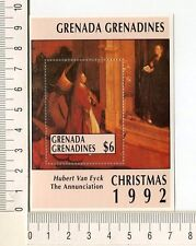 36788) GRENADA Grenadines 1992 MNH** Christmas - Hubert