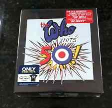 The Who Who Hits 50 2-CD Deluxe Edition Box With T-Shirt Best Buy Exclusive New