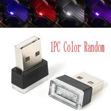 Flexible Mini USB LED Car Auto Atmosphere Light Colorful Light Lamp Accessories