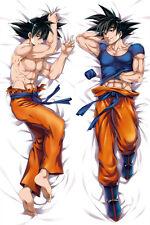 Anime Dragon Ball Z Son Goku Male Dakimakura Pillow Case Cover Hugging Body#11