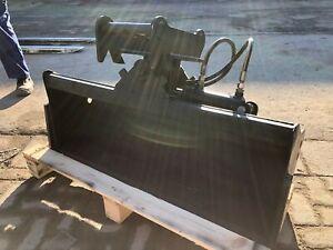 Baggerschaufel Minibagger Radlader Schaufel 100cm / MS01 Symlock / Hydraulisch